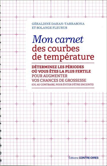 CARNET DES COURBES DE TEMPERATURE (MON)