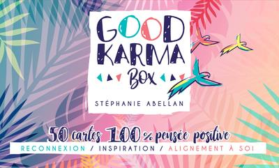 GOOD KARMA BOX - 50 CARTES 100% PENSEE POSITIVE