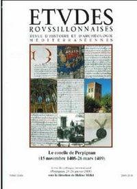 ETUDES ROUSSILLONNAISES T XXIV