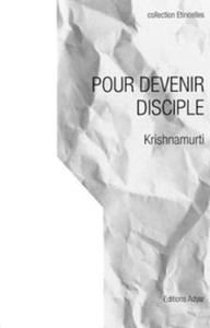 POUR DEVENIR DISCIPLE