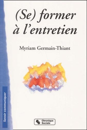 (SE) FORMER A L'ENTRETIEN