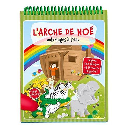 COLORIAGES A L'EAU - L'ARCHE DE NOE