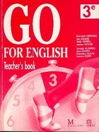 GO FOR ENGLISH 3E / LIVRE DU PROFESSEUR (AFRIQUE DE L'OUEST)