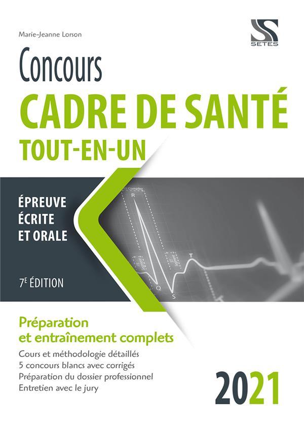 CONCOURS CADRE DE SANTE 2021 - TOUT-EN-UN