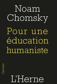 POUR UNE EDUCATION HUMANISTE