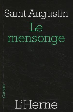 MENSONGE (LE)