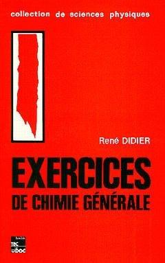 EXERCICES DE CHIMIE GENERALE 4 ED 4 T
