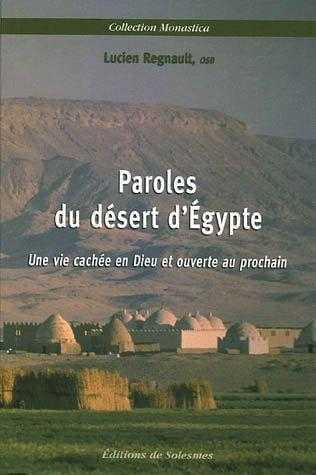 PAROLES DU DESERT D'EGYPTE