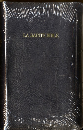 BIBLE SEGOND 1910 AVEC ZIP ONGLETS