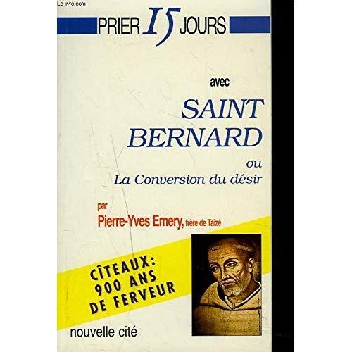 PRIER 15 JOURS AVEC ST-BERNARD