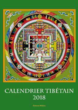 CALENDRIER D'ART TIBETAIN 2018