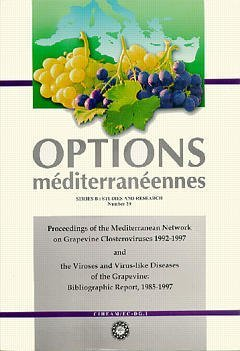 PROCEEDINGS OF THE MEDITERRANEAN NETWORKON GRAPEVINE CLOSTEROVIRUSES 19921997 AND THE VIROSES AND VI