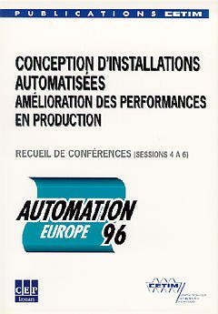 AUTOMATION EUROPE 96 2 BROCHURES SESSIONS 1 A 6 REF 3C70