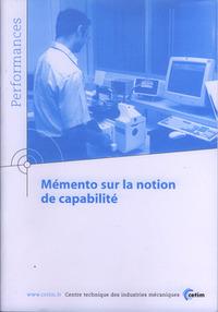 MEMENTO SUR LA NOTION DE CAPABILITE PERFORMANCES RESULTATS DES ACTIONS COLLECTIVES 9P21