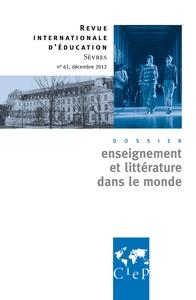 ENSEIGNEMENT ET LITTERATURE DANS LE MONDE - REVUE INTERNATIONALES D'EDUCATION SEVRES 61