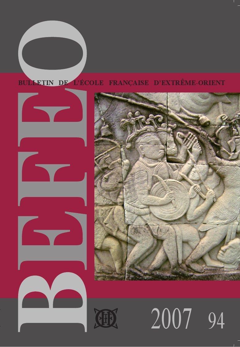 BULLETIN DE L'ECOLE FRANCAISE D'EXTREME-ORIENT (2007) N  94