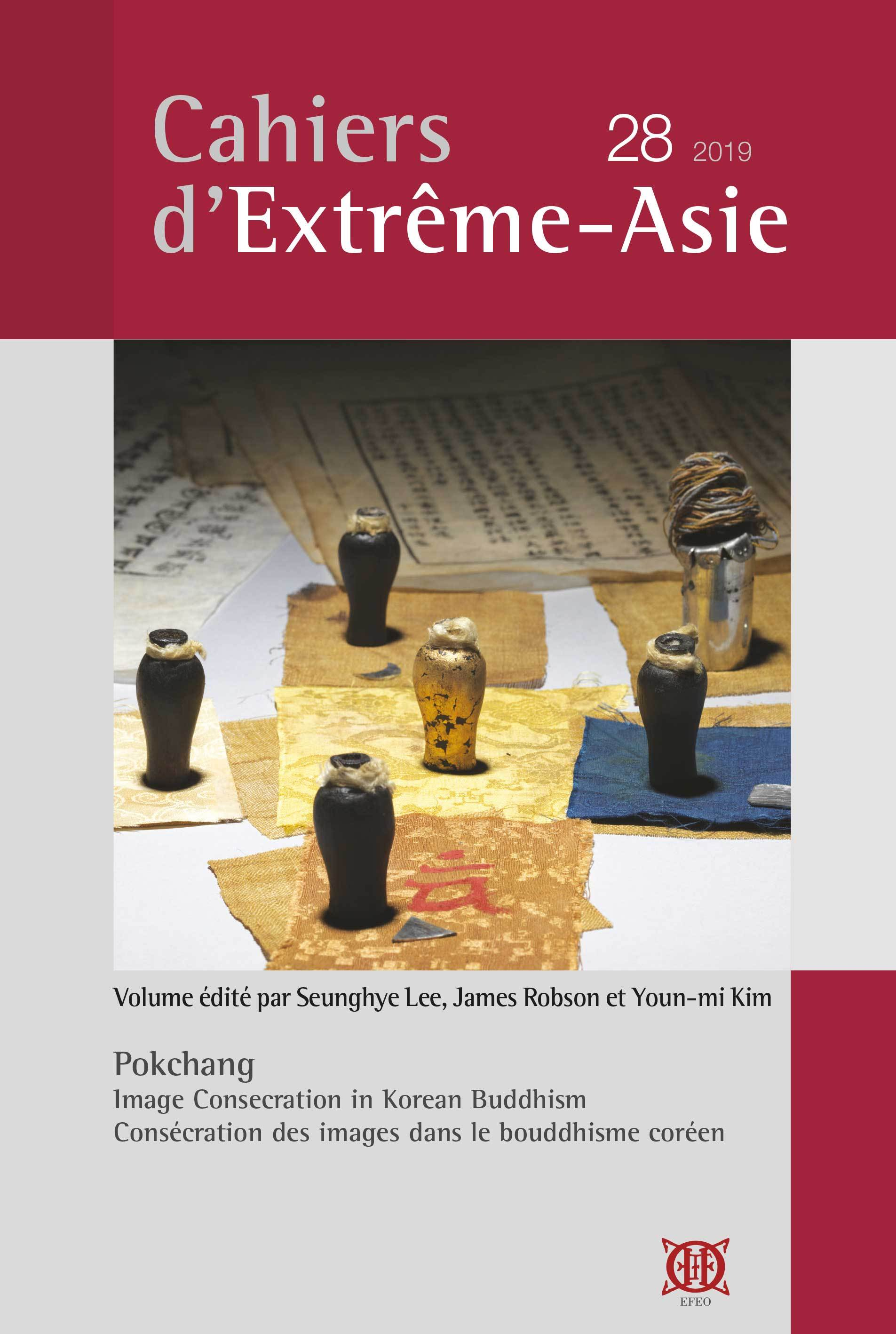 CAHIERS D EXTREME-ASIE, VOL. 28 (2019)