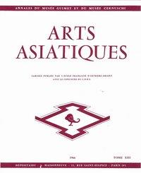 ARTS ASIATIQUES NO. 13 (1966)