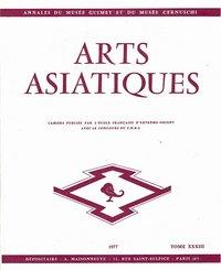 ARTS ASIATIQUES NO. 33 (1977)