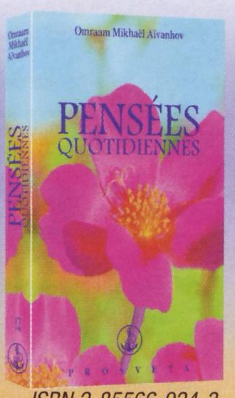 PENSEES QUOTIDIENNES 2007