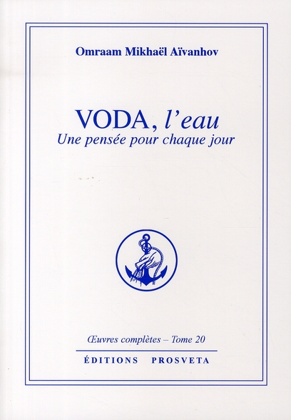 VODA, L'EAU - PENSEES QUOTIDIENNES - TOME 20