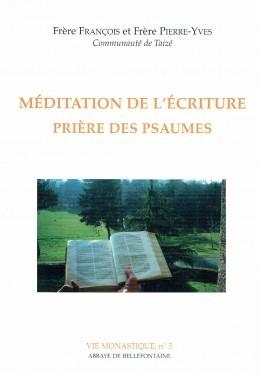 MEDITATION DE L'ECRITURE