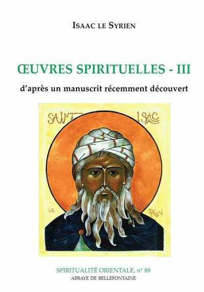 OEUVRES SPIRITUELLES D'ISAAC LE SYRIEN III