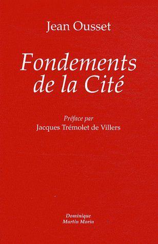 FONDEMENTS DE LA CITE