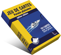 JEU DE CARTES PERMIS PLAISANCE OPTION COTIERE