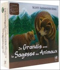 COFFRET JE GRANDIS AVEC LA SAGESSE DES ANIMAUX