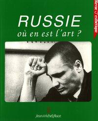 REVUE D'ESTHETIQUE N  23 : RUSSIE OU EN EST L'ART