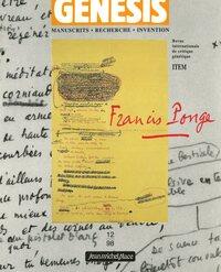 GENESIS 12 : FRANCIS PONGE