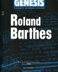 GENESIS 19 : ROLAND BARTHES