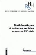 REVUE RHSH 6 - MATHEMATIQUES ET SCIENCES SOCIALES AU COURS DU XXE SIE CLE