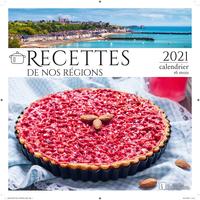 CALENDRIER RECETTES DE NOS REGIONS 2021