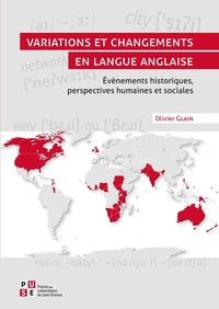 EVENEMENTS HISTORIQUES, PERSPECTIVES HUMAINES ET SOCIALES - VARIATIONS ET CHANGEMENTS EN LANGUE ANGL