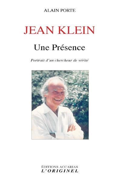JEAN KLEIN UNE PRESENCE