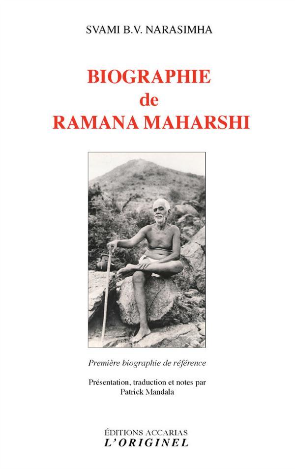 BIOGRAPHIE DE RAMANA MAHARSHI