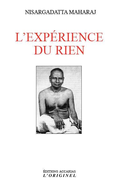 L'EXPERIENCE DU RIEN