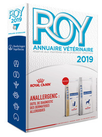 ANNUAIRE VETERINAIRE ROY - ANNEE 2019 (91E EDITION)