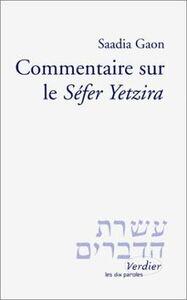 """COMMENTAIRE SUR LE """"SEFER YETZIRA"""""""