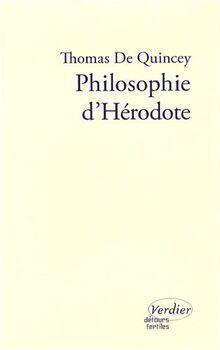 PHILOSOPHIE D'HERODOTE ESSAI