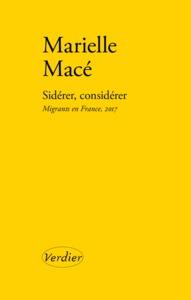 SIDERER, CONSIDERER - MIGRANTS EN FRANCE, 2017