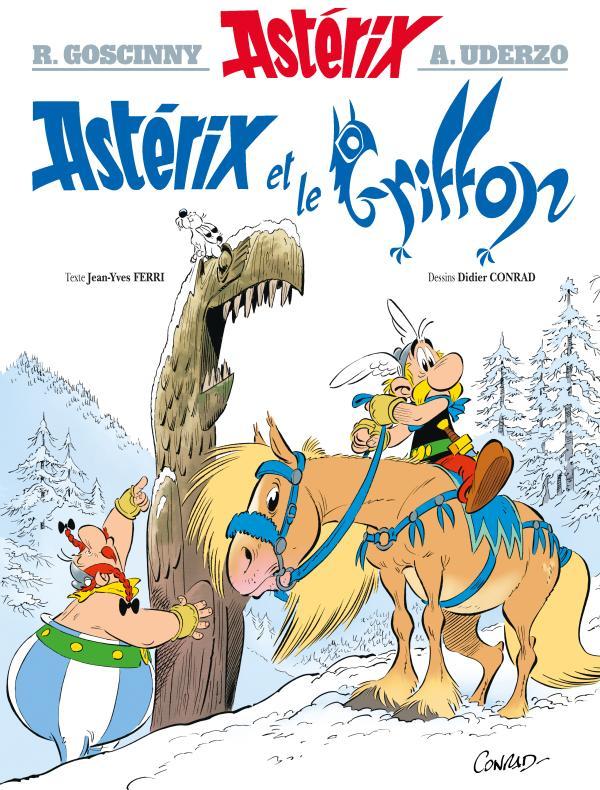 Asterix tome 39 - asterix et le griffon