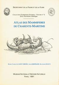 ATLAS DES MAMMIFERES DE CHARENTEMARITIME