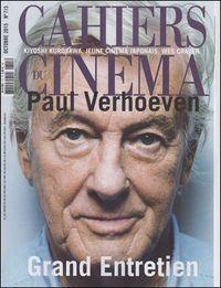 CAHIERS DU CINEMA N 715 PAUL VERHOEVEN OCTOBRE 2015
