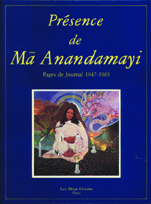 PRESENCE DE MA ANANDAMAYI