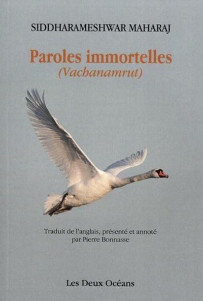 PAROLES IMMORTELLES - VACHANAMRUT