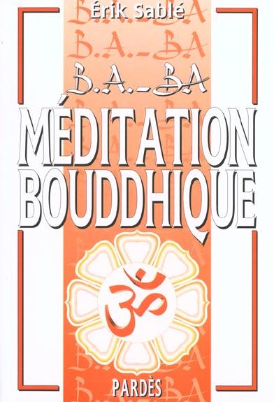 MEDITATION BOUDDHIQUE
