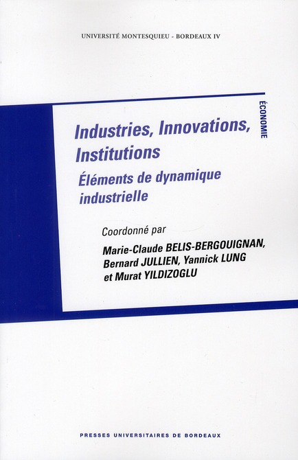 INDUSTRIES INNOVATIONS INSTITUTIONS